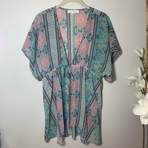 Francesca's Floral Kimono